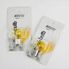 Audi A4 (B7) Yellow 1156 DRL Bulbs Fits 2004-08 with Xenon, Nokya NOK5235 QTY=2