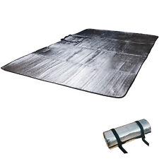 OUTDOOR Alu Isomatte Doppel Alumatte Thermo Isolier Matte 2 Personen Thermomatte