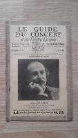 El Guía de La Concierto Y Las Teatro Letra - Arthur de Greef - N º 14-1929