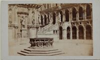 Carlo Ponti Palais Dei Doge Venezia Italia CDV Foto Vintage Albumina c1860-5