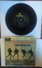 THE BEATLES Twist and Shout 45 EP RECORD ORIGINAL UK MONO PARLOPHONE W/ Sleeve