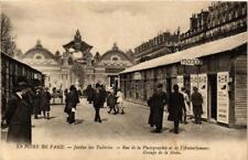 CPA FOIRE DE PARIS Jardin des Tuileries Rue de la Photographie (700245)