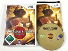 Baphomets Fluch The Director's Cut Broken Sword in OVP - Nintendo Wii 12