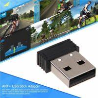 Mini Portatile ANT+ Chiavetta USB Adattatore per Garmin Sunnto Zwift Wahoo Bkool