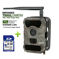 3G MMS GPRS 12MP 1080P Trail Hunting Camera APP WildGuarder 940NM WG-890WG+16G