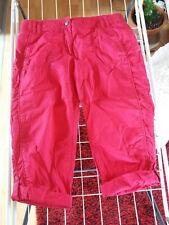 Damen Shorts Kurze Hose Bermuda Blumen  Panty Denim Baggy Italy Moda 34-42