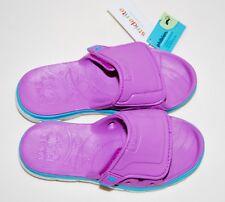 Nwt Stride Rite M2P Phibian Girls Purple Slide Sandals sz 3M 5M