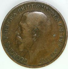 1925 HALF PENNY OF GEORGE V.     #WT15477