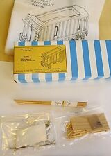 Ho scale, Circus Craft #cw 16, Commissary Wagon, Craftsman wood kit