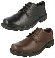MENS CLARKS LAIR WATCH FORMAL CASUAL RUGGED SOLE LACE UP LEATHER SHOES SIZE