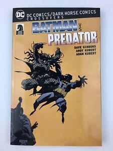 Batman vs Predator DC Comics / Dark horse Comics Crossovers First Edition