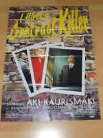 I HIRED A CONTRACT KILLER - Kinoplakat A1 ´91 - AKI KAURISMÄKI