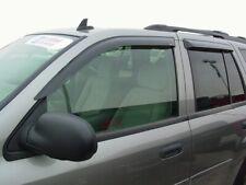 GMC Envoy 2002 - 2009 Tape-On Wind Deflector Vent Visor Shades 4pc