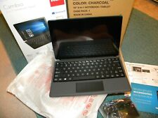 NEW IN BOX RCA Cambio W101 V2 2-in-1 Notebook/Tablet Charcoal Model W101SA23T1