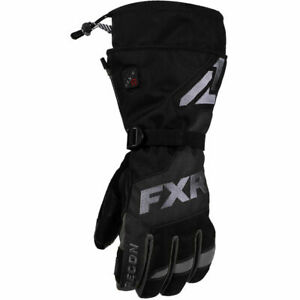 FXR Racing F20 Heated Recon Mens Winter Cold Weather Snowmobile Gloves