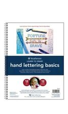 Strathmore Learn To Draw  Series - Hand Lettering Basics Spiral bound book NEW