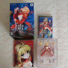 Fate Extra Limited Type Moon Box SONY PSP GAME  Figma Nero Figure Visual Works