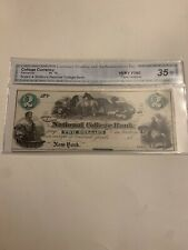 Bryant & Strattons National College Bank, New York $2