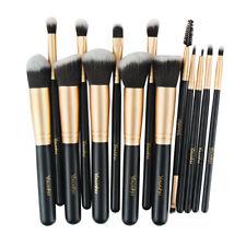 14Pcs Pro Makeup Brush Tool Big Powder Foundation Eyebrows Face Lip Brushes New