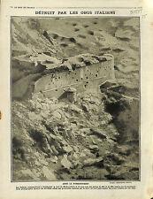 Fortezza Fort Malborghetto-Valbruna Friuli-Venezia Giulia/Les Vosges 1915 WWI