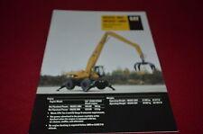 Caterpillar 325C Wheel Material Handler Excavator Dealer's Brochure DCPA6 ver4