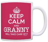 Mother's Day Gift Keep Calm Granny Will Take Care of It Funny Coffee Mug Tea Cup