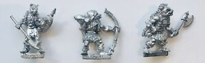Warhammer Citadel Metal TSR ADD55 Advanced Dungeons & Dragons GNOLL Set 1985
