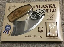 Alaska Ulu Knife Legendary Knife Of The Arctic Birch Handle(Dutch Harbor Alaska)