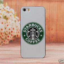 "COVER PER IPHONE 6 4.7"" IN PLASTICA RIGIDA DESIGN STARBUCKS CON SFONDO BIANCO"