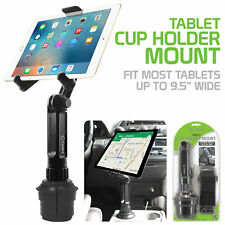 Tablet Cup Holder Mount- Apple iPad Pro Air Mini Galaxy Tab S6 S5e Tab A Book S