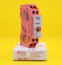 Broyce Control M1EDK Single Time On Delay Relay 24V ac / dc , DPDT 2 - 60 s