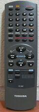 Toshiba VC-655 VCR Remote For M655, M655C, W602, W602C, W604, W607, W607C, W712