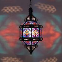 Lanterna Orientale Lampada Marocchina da Soffitto a Sospensione Titia _ Zwak