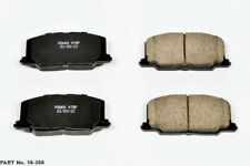 SET 4 AUTOSPECIALTY POWER STOP 16-356  FRONT EVOLUTION CERAMIC DISC BRAKE PADS