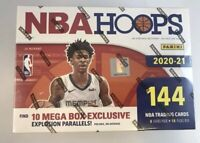 2020-2021 NBA Hoops Mega Box Factory Sealed Brand New IN HAND 🔥
