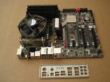 Evga X58 SLI, (132-BL-E758-A1) Motherboard W/ i7 2.8ghz CPU/fan, ram, io plate