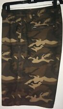 Micros men's board shorts size 32 camouflage swim shorts surf surfing medium M