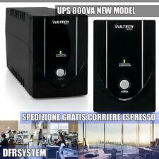 UPS 800VA Gruppo Di Continuità Vultech UPS800VA-LITE 440W Offline NEW MODEL