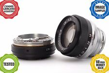 Contax KIEV RF to Fuji FX adapter with focusing part *GIFT: Helios-103 1.8/53*