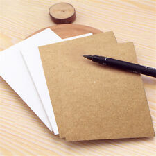 20 Sheets Card Cardboard Paper Made Postcards Diy Craft Art Scrapbooking Co