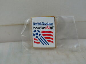 1994 World Cup Pin - Match Location New York / New Jersey with Logo - Metal Pin