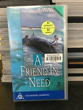 A Friend In Need - Caring For Dolphins And Whales ex-rental VHS tape * rare *