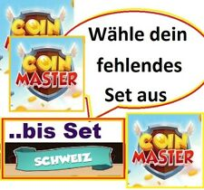 2x Coin Master Cards freely selectable -- until Set Sport (except Gold Cards)