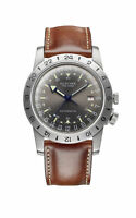 """Glycine Men's GL0251 Airman Vintage """"The Chief"""" Purist Automatic 40mm Watch"""