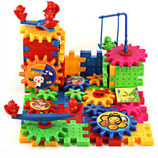 81Pcs Plastic Building Blocks Puzzle Toys for Kids Children Educational Toy Gift