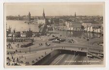 Sweden, Stockholm, Utsikt fran Katarinahissen RP Postcard, B195