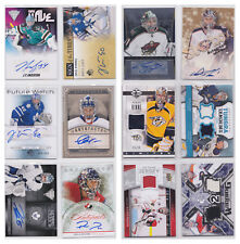 Goalie Game Used Jersey Autograph Auto Signature Rookie NHL Hockey - You Pick