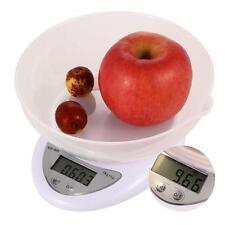 5Kg x 1g Digital Balanza Kitchen LCD Electronic Weight Cocina Comida pesa scale