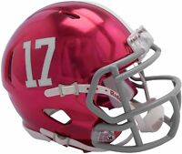 ALABAMA CRIMSON TIDE CHROME RIDDELL SPEED FOOTBALL MINI HELMET NEW 8055081