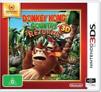 Donkey Kong Country Returns Selects Nintendo 3DS (PAL) New!